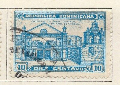 Dominican Republic 1931 Early Issue Fine Used 10c. 104067