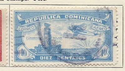Dominican Republic 1931-33 Early Issue Fine Used 10c. 104069
