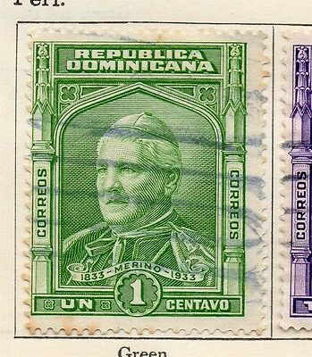 Dominican Republic 1933 Early Issue Fine Used 1c. 104081