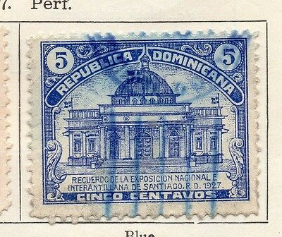 Dominican Republic 1927 Early Issue Fine Used 5c. 104139