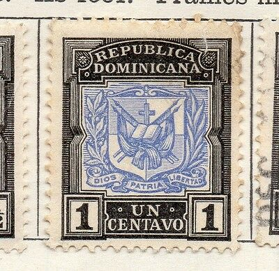 Dominican Republic 1905 Early Issue Fine Mint Hinged 1c. 104172