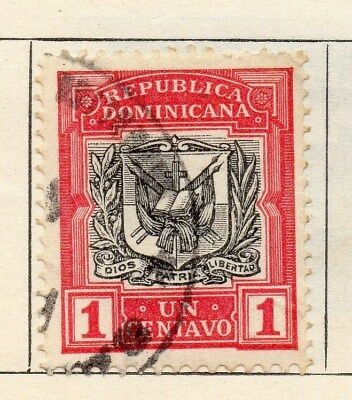 Dominican Republic 1906 Early Issue Fine Used 1c. 104174