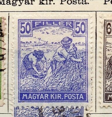Hungary 1920 Early Issue Fine Mint Hinged 50f. 104189