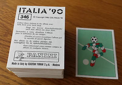 Panini Italia 90 World Cup Stickers - Complete your collection