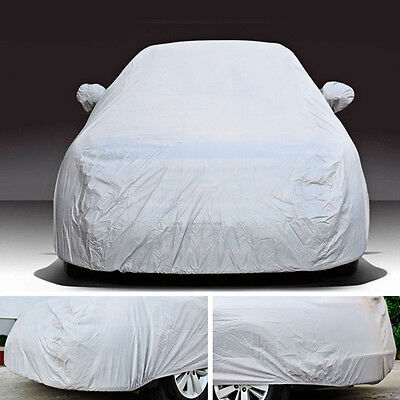 Useful Car Cover Sun Snow Dust Rain Resistant Protection For Hatchback Size XL