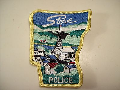 Stowe Vermont Police Department Patch
