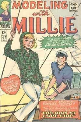Modeling with Millie #47 in Fine - condition. FREE bag/board