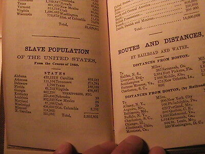 1862 Civil War Statistical Pocket Manual Pay Rates For Troops And Much More