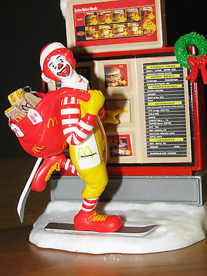 1997 ENESCO Masterpiece ORNAMENT. Ronald McDONALD Ordering Up A Merry Christmas