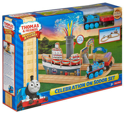 Thomas und Freunde Celebration on Sodor Set Friends Train Spielset Mattel CDK47