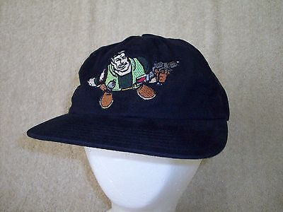 SMALL SOLDIERS Hat Movie Crew Member Adult Leather Strap Adjustable Cap US Made