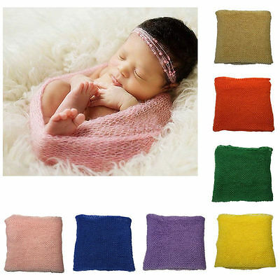 Newborn Baby Girls Boys Stretch Wrap Costume Photo Photography Prop Outfits