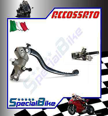 Accossato 19 X 20 Brake Radial Master Cylinder With Fixed Lever Forged