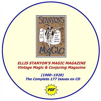 Ellis Stanyon's Magic Magazine (1900-1920) - The Complete 177 Issues - DVD