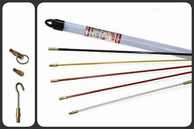 Super Rod Handy Set CRHS - 4 x 500mm Rods & 330mm Flexi-Lead with attachments