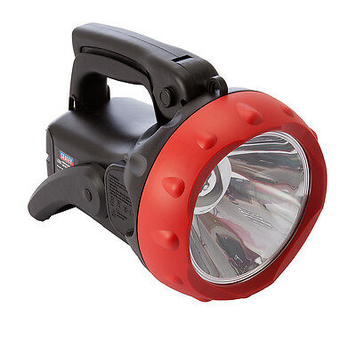 Sealey LED436 Rechargeable Spotlight 3w Cree Led - 4,000,000 Candlepower