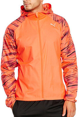 Puma NightCat Mens Running Jacket - Orange