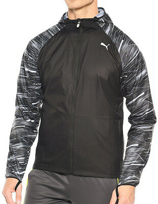 Puma NightCat Mens Running Jacket - Black