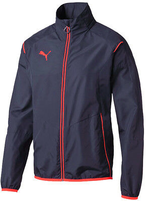 Puma Evo Training Light Mens Running Jacket - Blue