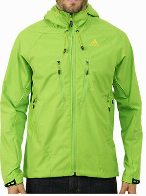 adidas Terrex Swift Softshell Mens Jacket - Green