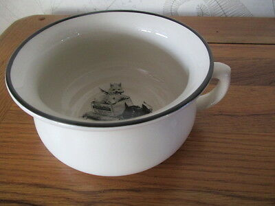 Unusual Black And White Whisky Potty
