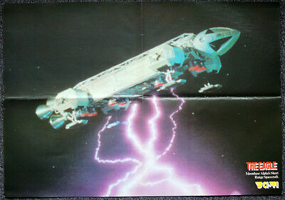 Space 1999 1970's Poster . The Eagle . A2 Size . 58 X 41 Cm
