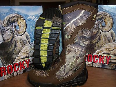 """New 16"""" Rocky Athletic Mobility Snake Boot Waterproof Gortex Zipper Scent -  9 W"""