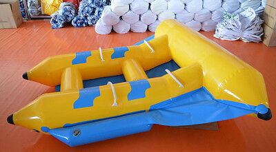 Inflatable New Flyfish Flying Fish Boat Water Slide Banana Boat