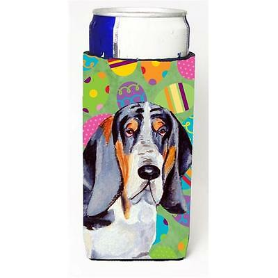 Basset Hound Easter Eggtravaganza Michelob Ultra s For Slim Cans 12 oz.