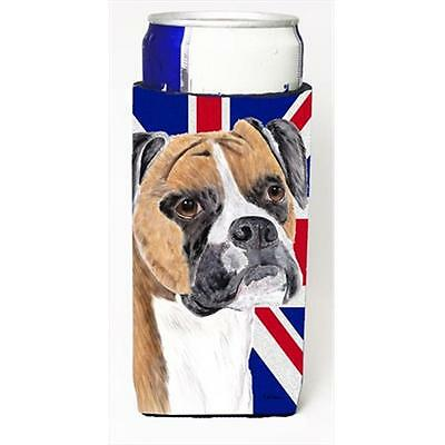 Boxer With English Union Jack British Flag Michelob Ultra bottle sleeves For ...