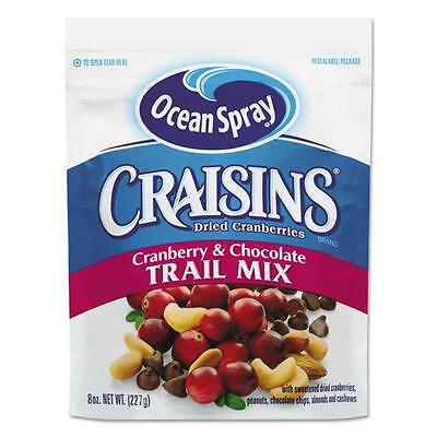 Ocean Spray Cranberries 21074 Craisins Cranberry Chocolate Trail Mix, 8 oz. Bag