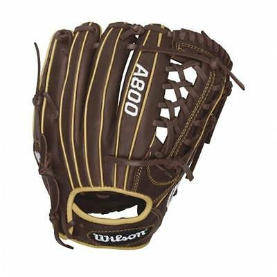 Wilson Sports 12.5 in. A800 Showtime Outfield Baseball Glove Right Hand Throw