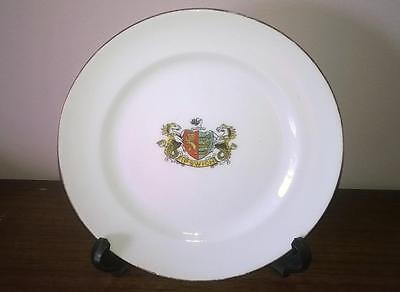 Ipswich - Crested Small Plate - Collectable - Vintage - Vgc - Original - Rare