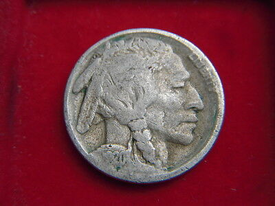 1920 Five Cent Coin  From The United States From My Collection D33