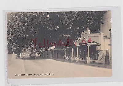 South Africa Paarl Theatre On Lady Grey St Bw Ppc Unposted Hoitsema Card