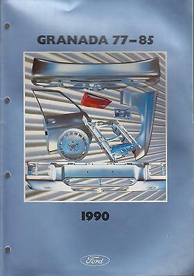Ford Granada Mk2 Saloon Estate 1977-85 Factory Body Panels Pictorial Parts List