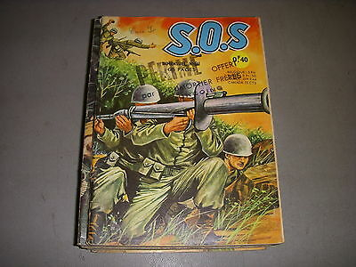 BD Pt Format S.O.S n° 91 1965 Editions AREDIT ARTIMA BD GUERRE PANORAMA MESDAG