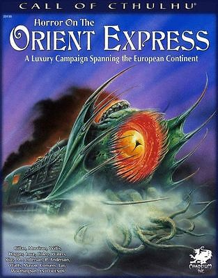 Cthulhu - Horror on the Orient Express die komplette Kampagenenbox