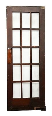 15 Glass Beveled Panel French Door