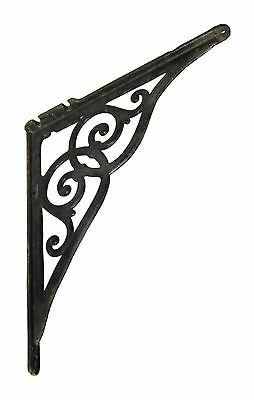 Single Vintage Decorative Black Sink Bracket