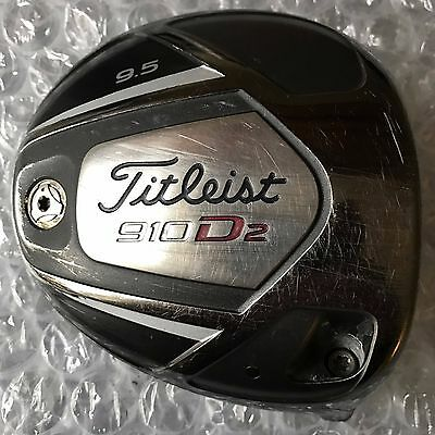 TITLEIST 910 D2 9.5 DEGREE Driver HEAD