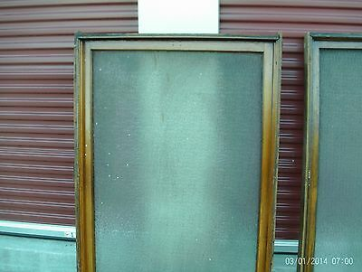 Vintage Doctors office privacy window - Huge flowing glass  - ready to install