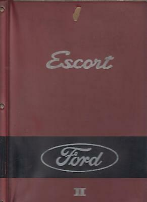 Ford Escort Mk1 Inc Sport Gt Twin Cam '67-72 Factory Panels/trim Parts Catalogue