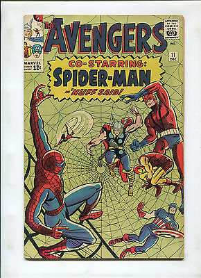 Avengers #11 (6.0) Spidey Cover And X-Over