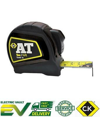 C.K AT Auto Lock Tape Measure 5m / 16ft - T344716 AT