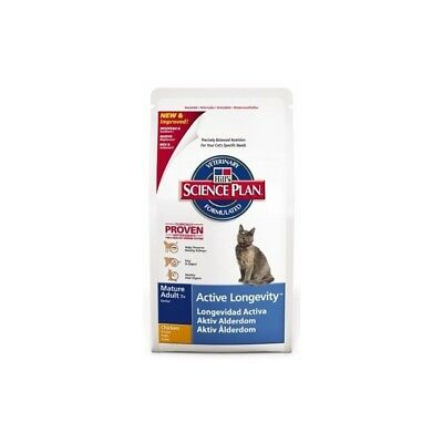 HILL S science plan feline adult active longevity mangime secco pollo 300 g.