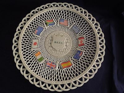 Belleek Collector Society Chapter Plate 1999