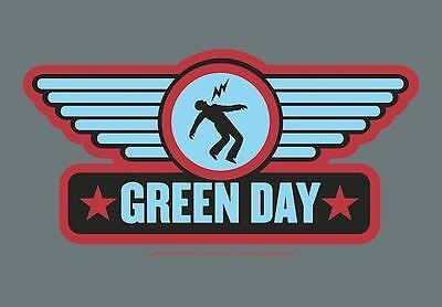 "Green Day Flagge / Fahne ""wings"" Poster Flag"