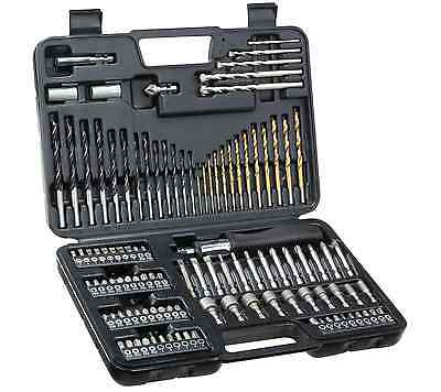 DEWALT Screwdriver Bits 1.5-10mm Drill HSS Bit Set, 109 PIECES for Metal, Wood