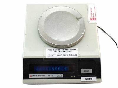 Denver Instrument Co. XS-410 Laboratory Analytical Scale - Tested Works